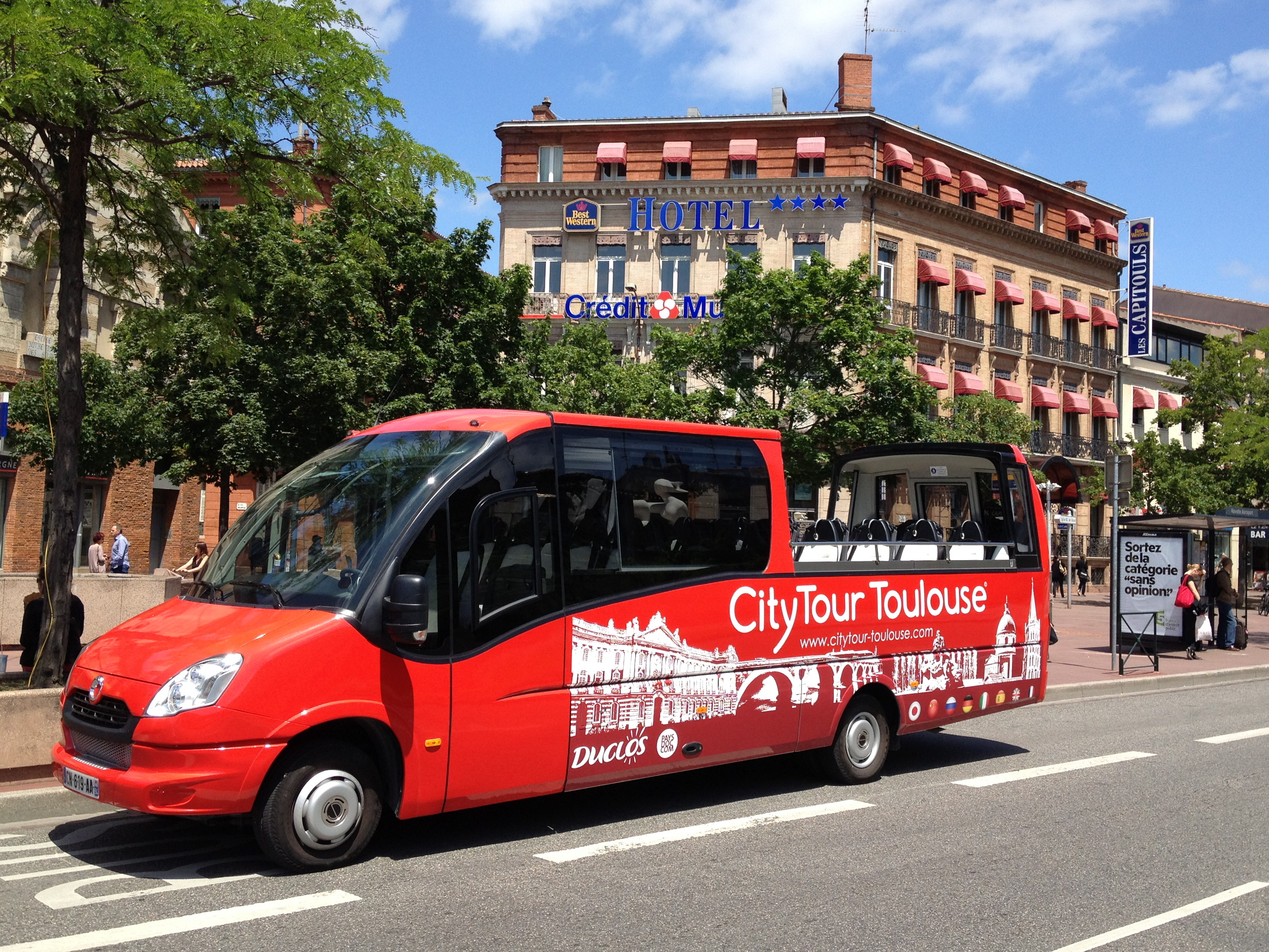 citytour toulouse hop on hop off toulouse sightseeing tours. Black Bedroom Furniture Sets. Home Design Ideas