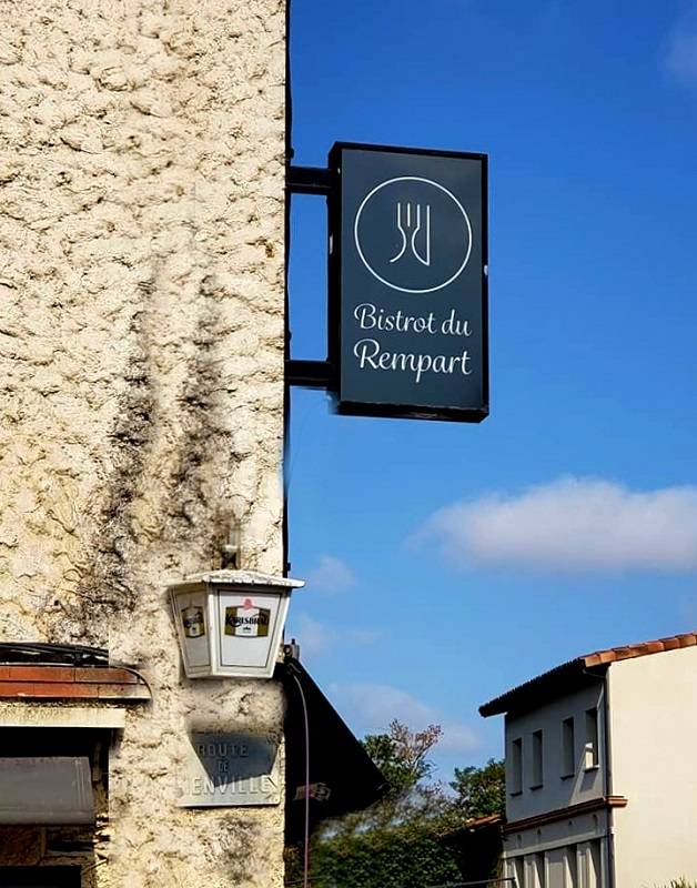 BISTROT DU REMPART, SAINT-PAUL-SUR-SAVE