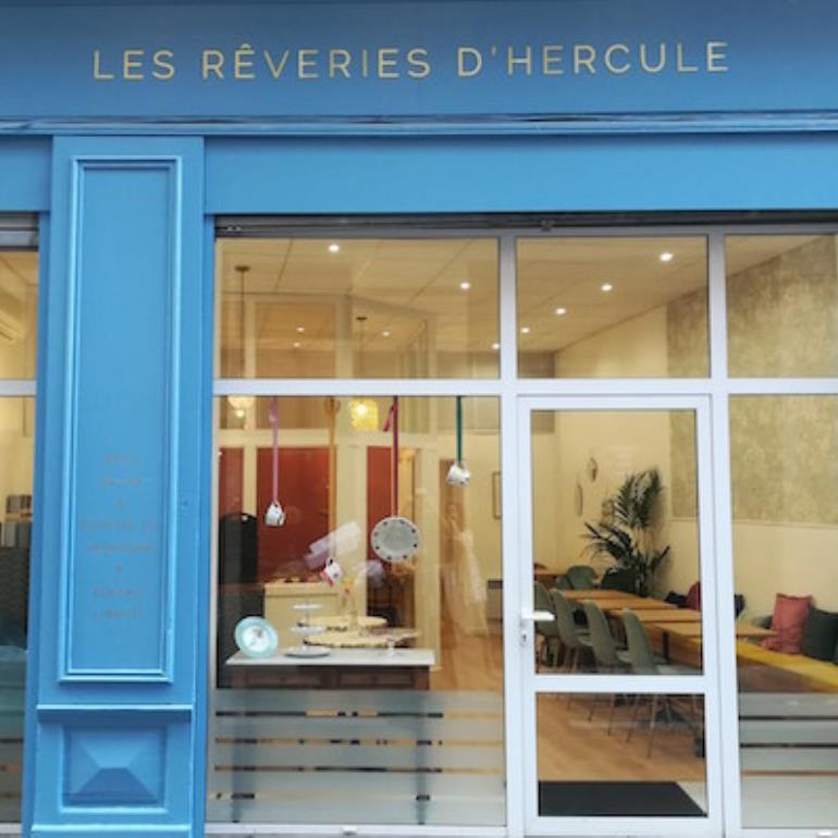 salon de thé Les Rêveries d'Hercule