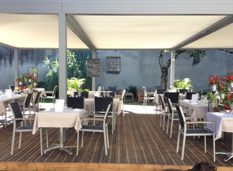 Restaurant l'Enclos CAZERES terrasse