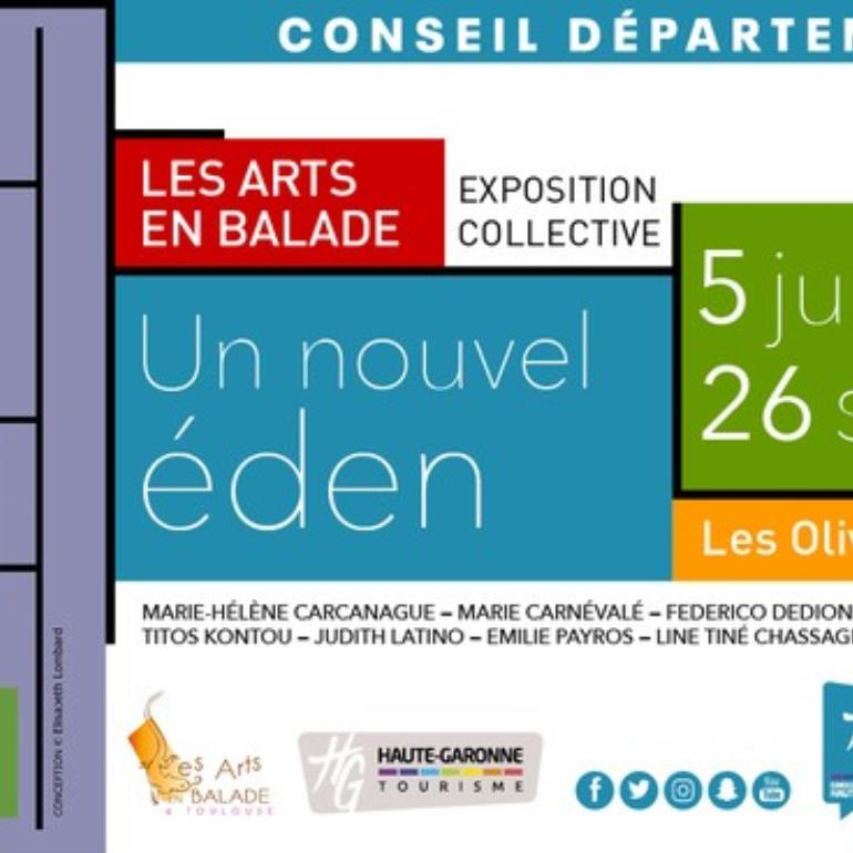 Visuel expo Olivetains format paysage