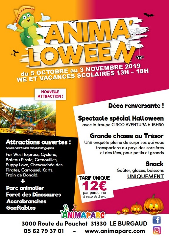 ANIMA'LOWEEN, LE BURGAUD