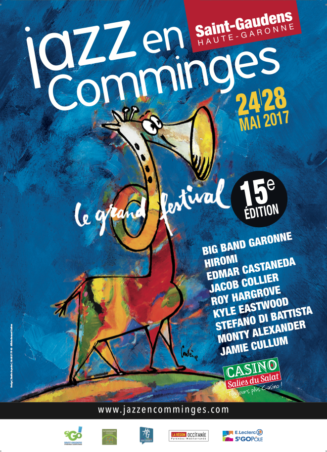 Festival Jazz en Comminges 24 au 28 mai 2017 Festival Jazz en Comminges