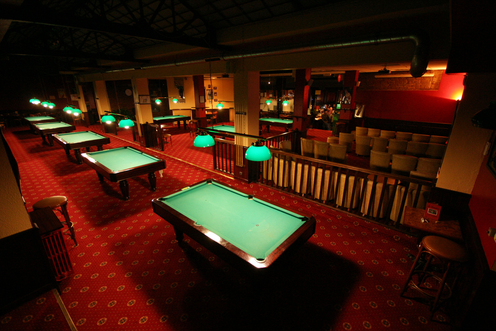 Le Seventies Toulouse Sports Bar Pub Billiard Room  # Meuble Seventies
