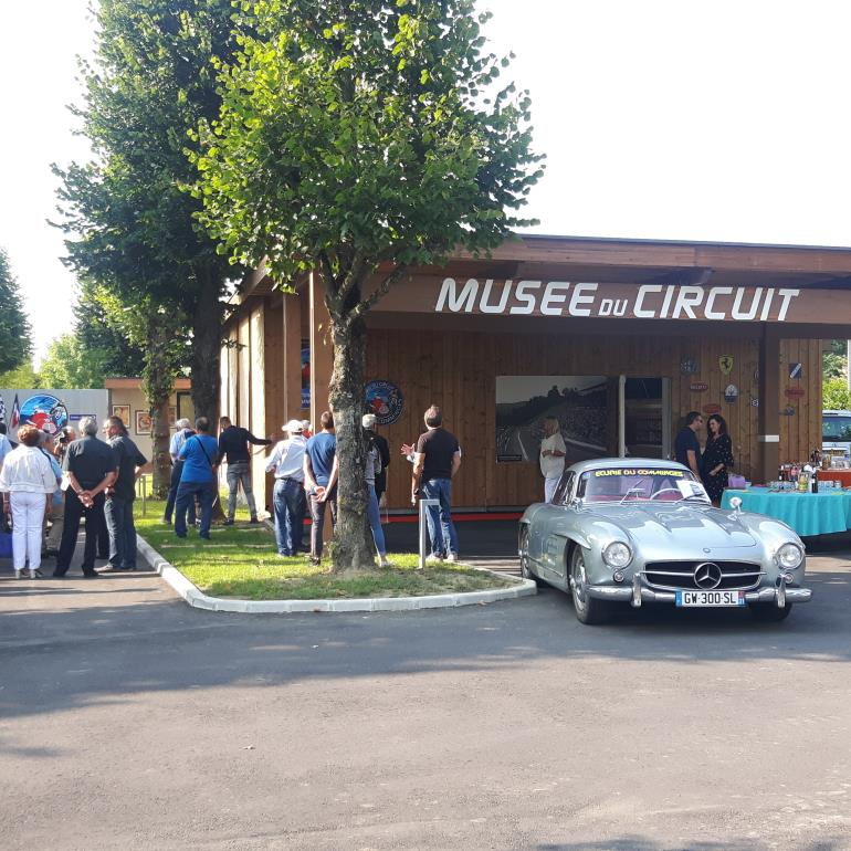 Inauguration du musée du circuit automobile du Comminges à Saint-Gaudens