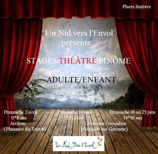 STAGE DE THEATRE BINOME ADO ADULTE