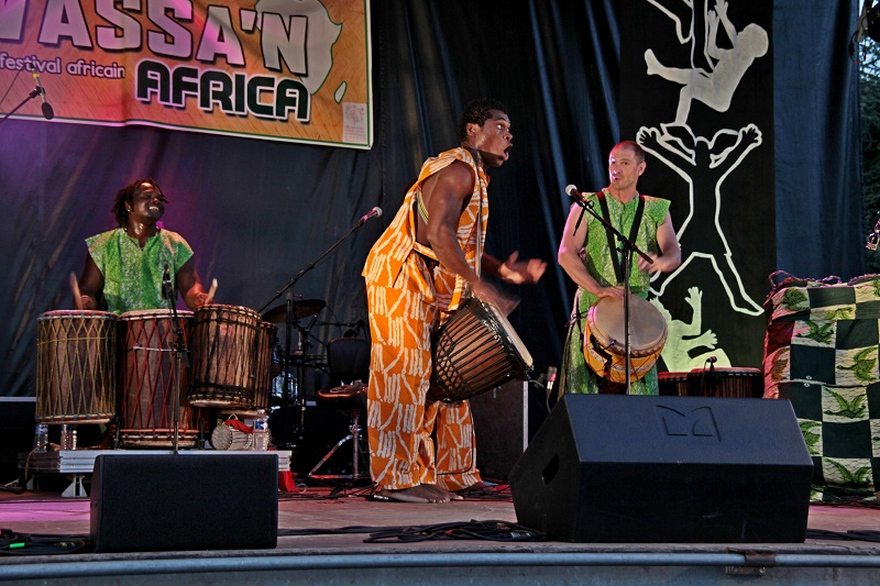 FESTIVAL WASSA'N AFRICA, LAUNAC